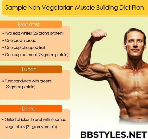 Muscle Building Non Vegetarian Diet Bbstyles Net